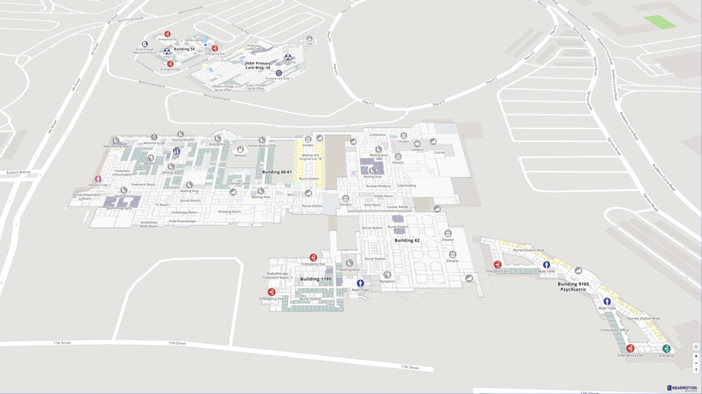 JHAH Mapping for Indoor Navigation