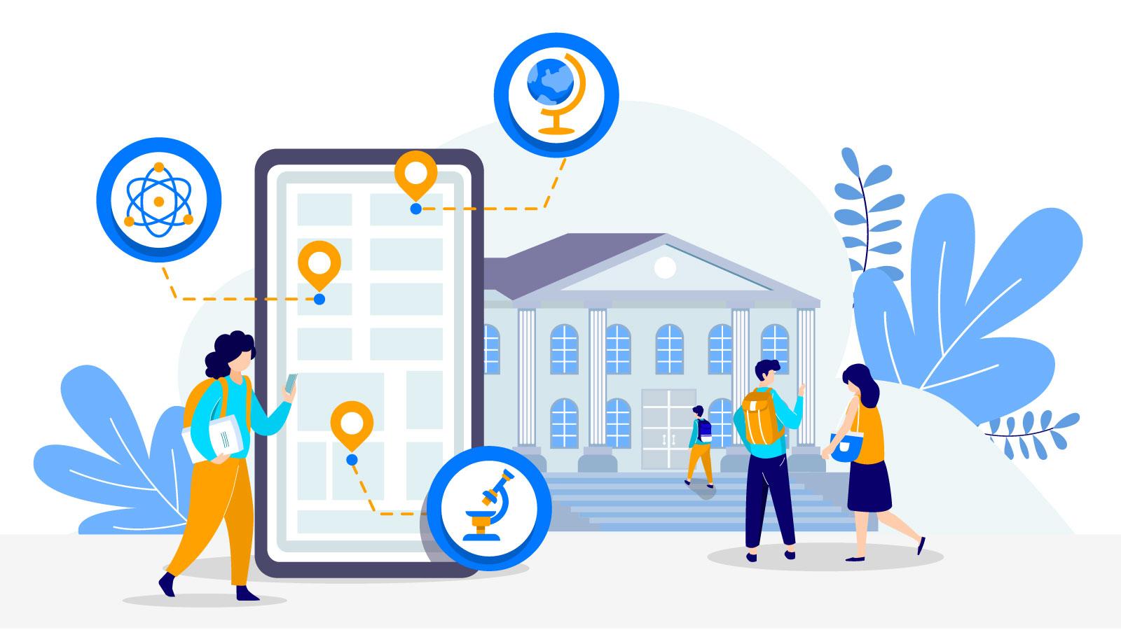 Indoor navigation for universities