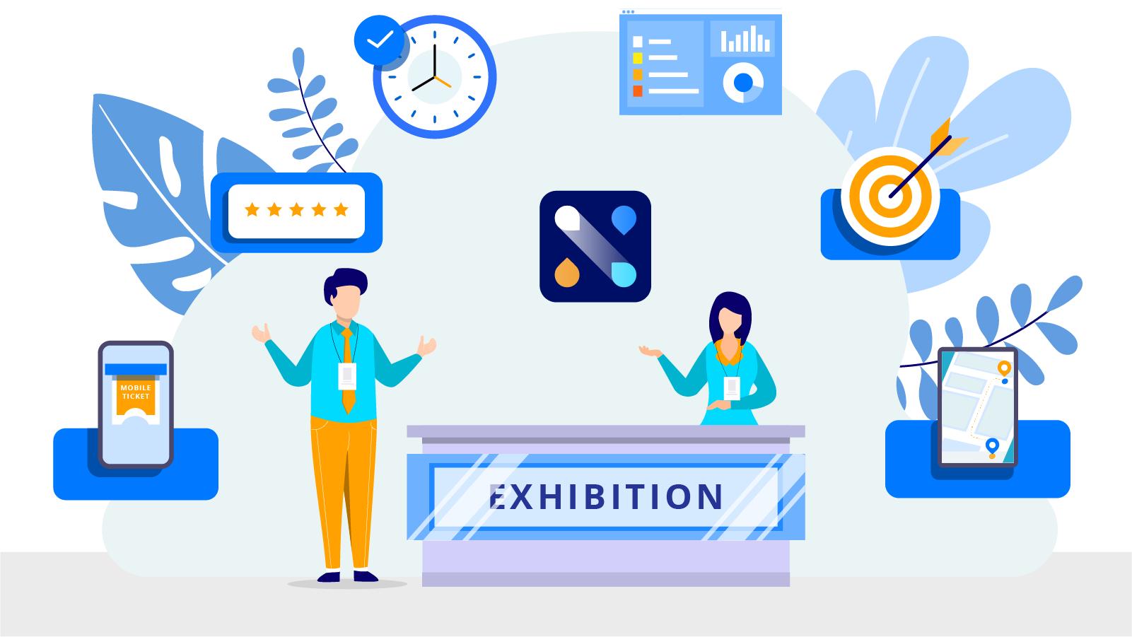 Indoor Navigation for Exhibitions