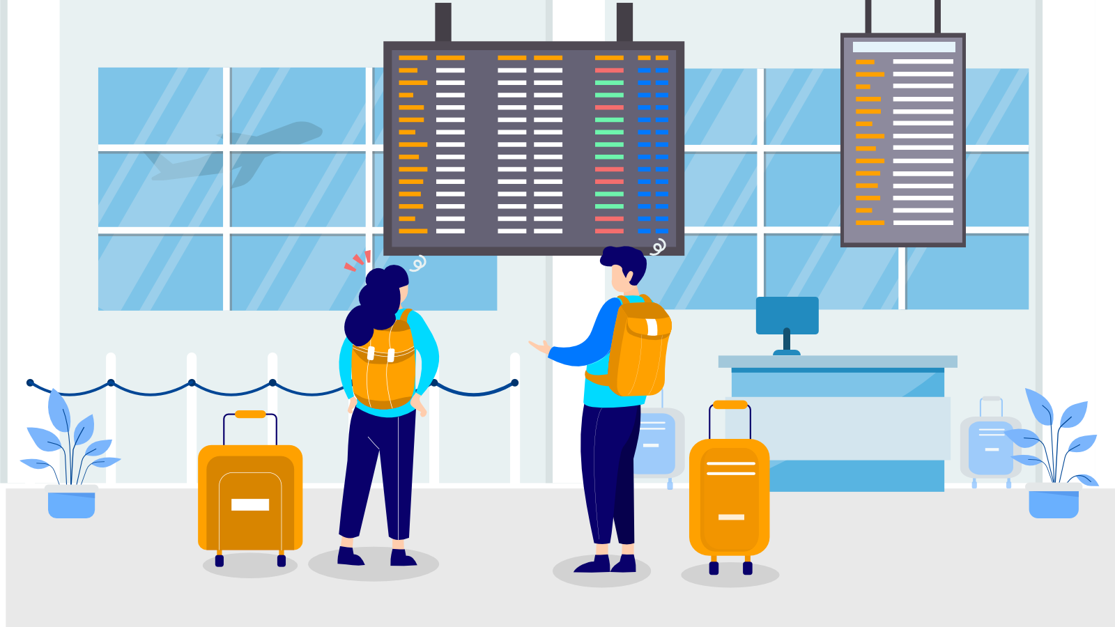Indoor navigation for airports